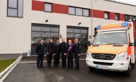 Einweihung Anbau Feuerwehr- und Rettungswache Pulheim