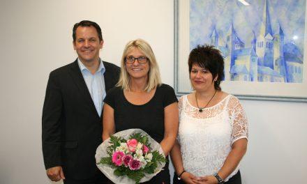 Karin Bahr 25 Jahre im öffentlichen Dienst