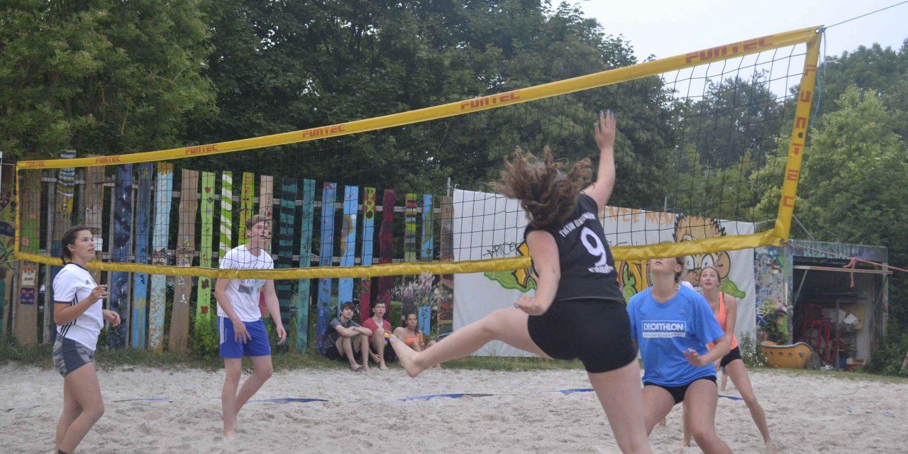 Zahnrad: die 2. Beachvolleyballnacht