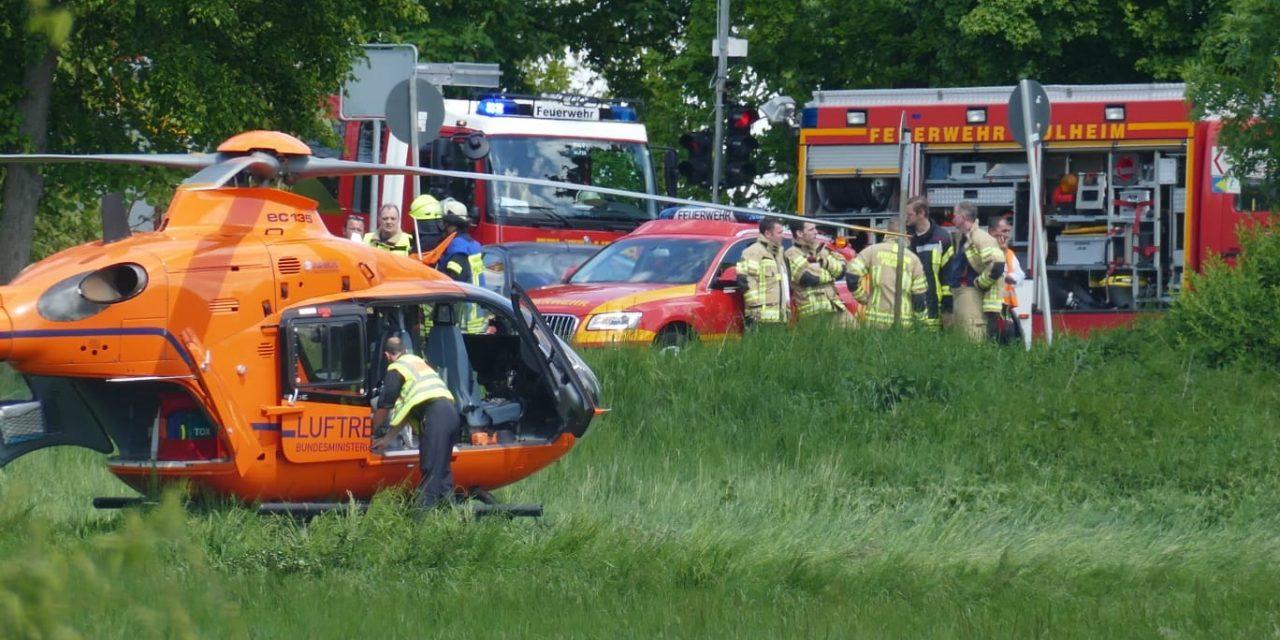Schwerer Unfall Kreuzung Bonnstrasse / L 213