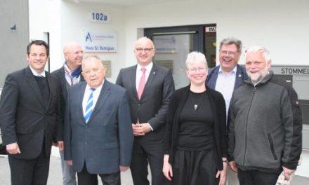 Haus St. Remigius in Sinnersdorf offiziell eingeweiht