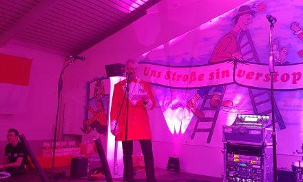 Die Dorfgemeinschaft Geyen ist am 08.11.2019 in die Karnevalssession gestartet