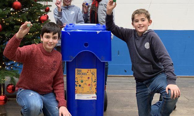 Die Marion-Dönhoff-Realschule in Pulheim macht den Deckel drauf