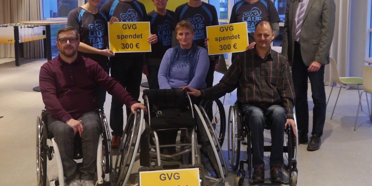 GVG-Laufteam spendet für Rolling Tigers