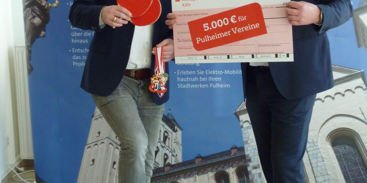 """Finanzielle Unterstützung für Vereine – Bewerbungsaufruf: """"10 x 500 Euro für Pulheimer Vereine"""""""
