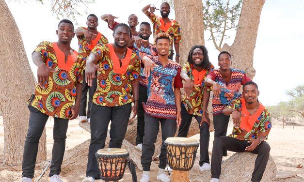 African Vocals live aus Namibia am 24. Mai 2020 um 18:00  Uhr