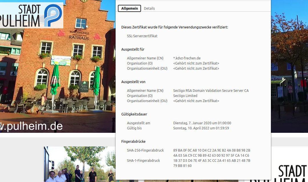 pulheim.de – Relaunch