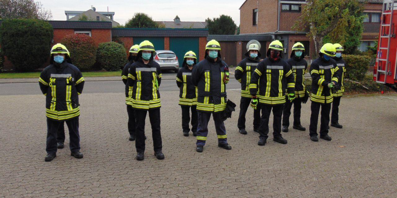 Feuerwehr Pulheim: Teilabschnitt der Ausbildung abgeschlossen