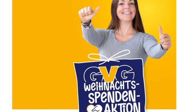 Weihnachtsspendenaktion – GVG Rhein-Erft spendet 10.000 Euro für die Region