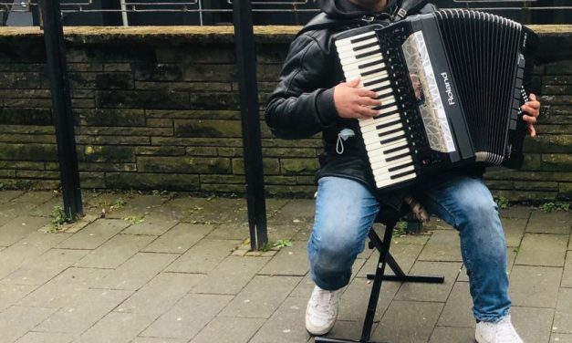 Musik auf dem Marktplatz