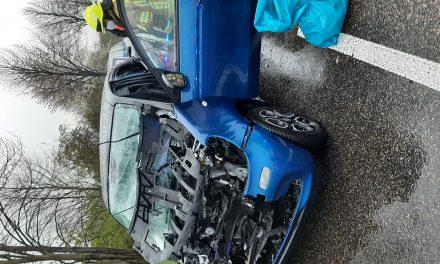 Verkehrsunfall auf der B59