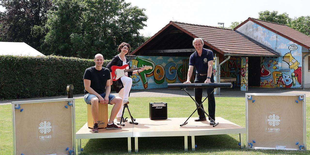 Neue Bühne für das Caritas-Jugendzentrum POGO