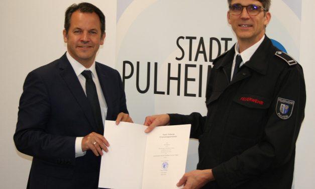 Bürgermeister Keppeler ernennt neuen Leiter der Feuerwehr